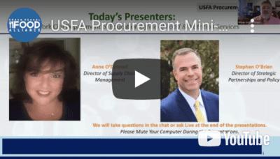 USFA Procurement Mini-Series Part 3: USDA Foods (New York City, NY)